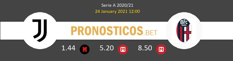 Juventus vs Bologna Pronostico (24 Ene 2021) 1
