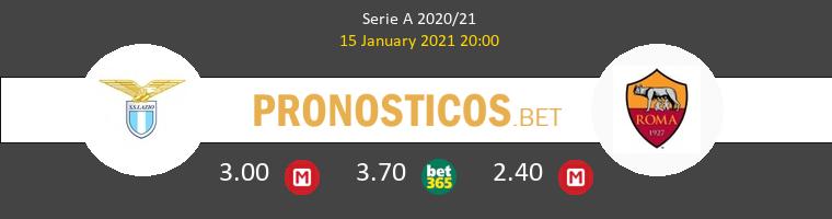 Lazio vs Roma Pronostico (15 Ene 2021) 1
