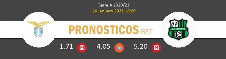 Lazio vs Sassuolo Pronostico (24 Ene 2021) 1