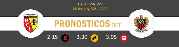 Lens vs Nice Pronostico (23 Ene 2021) 1