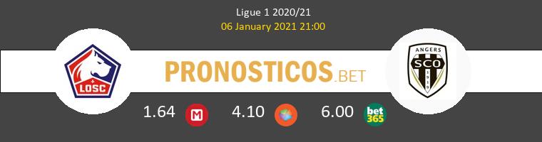 Lille vs Angers SCO Pronostico (6 Ene 2021) 1