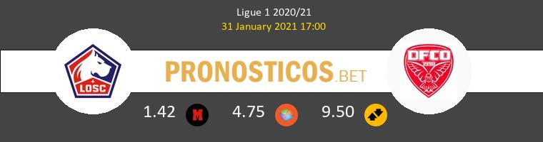 Lille vs Dijon FCO Pronostico (31 Ene 2021) 1