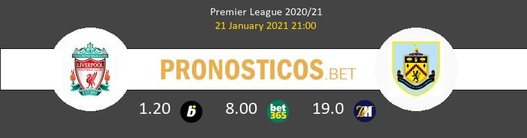Liverpool vs Burnley Pronostico (21 Ene 2021) 1