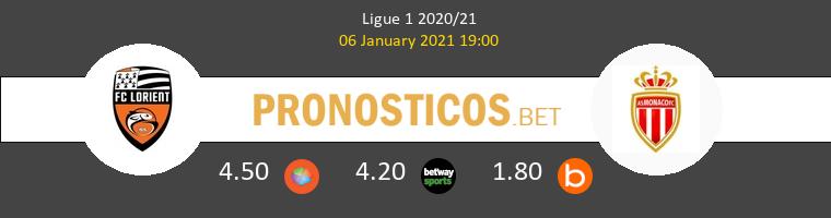 Lorient vs Monaco Pronostico (6 Ene 2021) 1