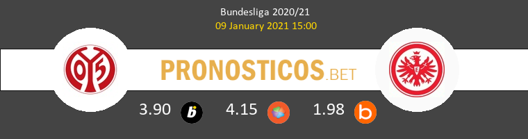 Mainz 05 vs Eintracht Frankfurt Pronostico (9 Ene 2021) 1