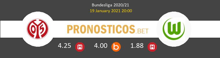 Mainz 05 vs Wolfsburgo Pronostico (19 Ene 2021) 1
