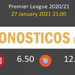 Manchester United vs Sheffield United Pronostico (27 Ene 2021) 3