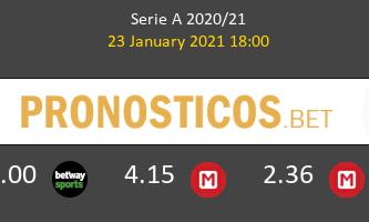 Milan vs Atalanta Pronostico (23 Ene 2021) 1