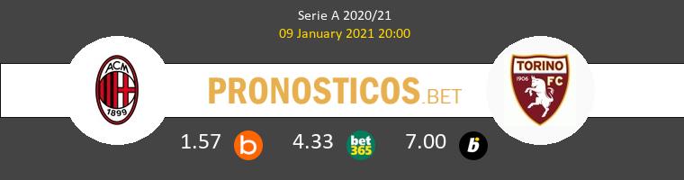 AC Milan vs Torino Pronostico (9 Ene 2021) 1