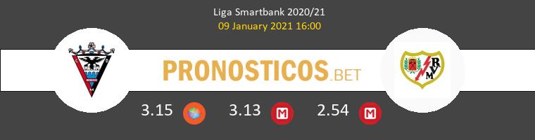 Mirandés vs Rayo Vallecano Pronostico (9 Ene 2021) 1