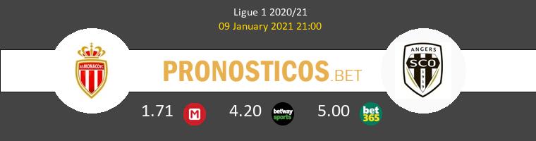 Monaco vs Angers SCO Pronostico (9 Ene 2021) 1