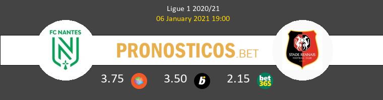 Nantes vs Stade Rennais Pronostico (6 Ene 2021) 1