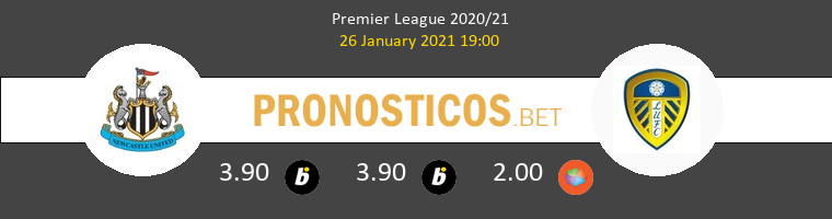 Newcastle vs Leeds United Pronostico (26 Ene 2021) 1
