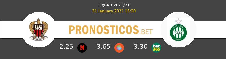 Nice vs SaintvÉtienne Pronostico (31 Ene 2021) 1