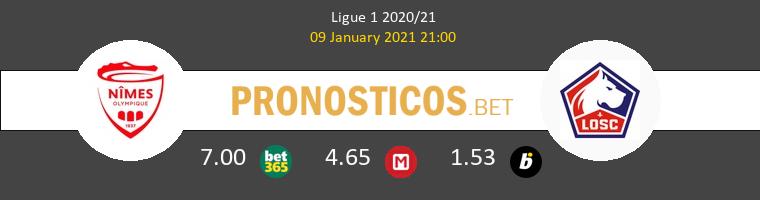 Nimes vs Lille Pronostico (9 Ene 2021) 1
