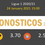 Nimes vs Lorient Pronostico (24 Ene 2021) 4