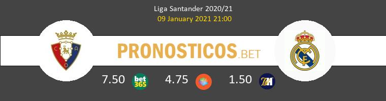 Osasuna vs Real Madrid Pronostico (9 Ene 2021) 1
