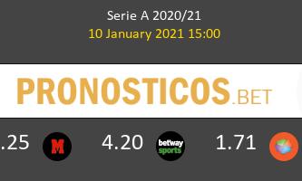Parma vs Lazio Pronostico (10 Ene 2021) 1