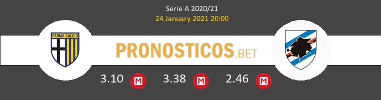 Parma vs Sampdoria Pronostico (24 Ene 2021) 1