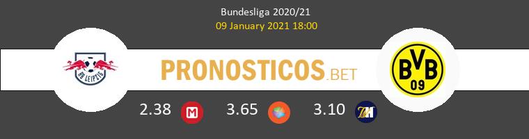 RB Leipzig vs Borussia Dortmund Pronostico (9 Ene 2021) 1