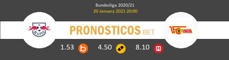 RB Leipzig vs Union Berlin Pronostico (20 Ene 2021) 1