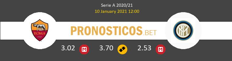 Roma vs Inter Pronostico (10 Ene 2021) 1