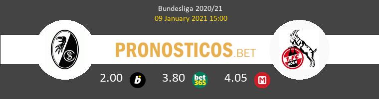SC Freiburg vs Colonia Pronostico (9 Ene 2021) 1