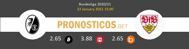 SC Freiburg vs Stuttgart Pronostico (23 Ene 2021) 1