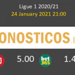 SaintvÉtienne vs Olympique de Lyon Pronostico (24 Ene 2021) 2