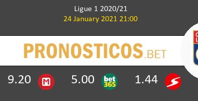 SaintvÉtienne vs Olympique de Lyon Pronostico (24 Ene 2021) 3