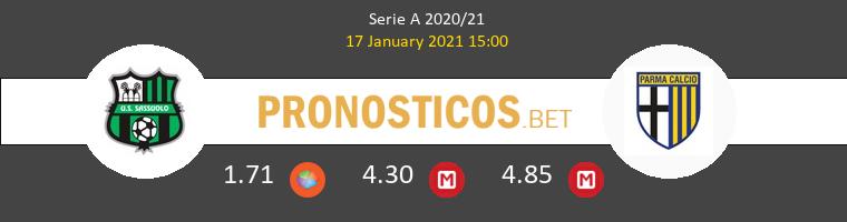 Sassuolo vs Parma Pronostico (17 Ene 2021) 1