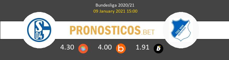 Schalke 04 vs Hoffenheim Pronostico (9 Ene 2021) 1