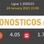 Stade de Reims vs Stade Brestois Pronostico (24 Ene 2021) 6