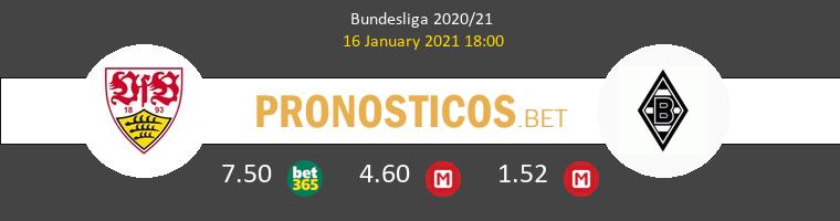 Stuttgart vs B. Mönchengladbach Pronostico (16 Ene 2021) 1