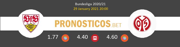 Stuttgart vs Mainz 05 Pronostico (29 Ene 2021) 1
