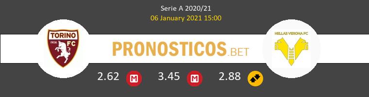 Torino vs Hellas Verona Pronostico (6 Ene 2021) 1