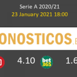 Udinese vs Inter Pronostico (23 Ene 2021) 7