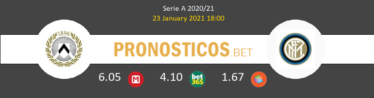 Udinese vs Inter Pronostico (23 Ene 2021) 1