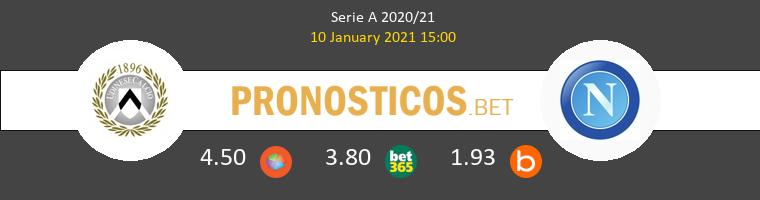 Udinese vs Nápoles Pronostico (10 Ene 2021) 1