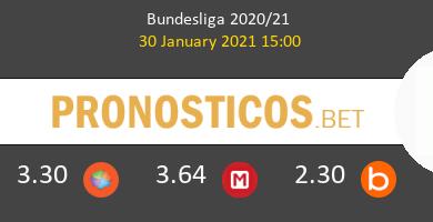 Union Berlin vs B. Mönchengladbach Pronostico (30 Ene 2021) 6