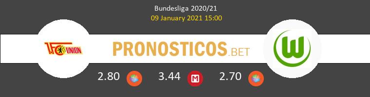 Union Berlin vs Wolfsburgo Pronostico (9 Ene 2021) 1