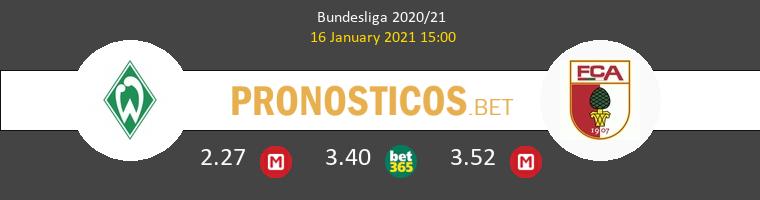 Werder Bremen vs FC Augsburgo Pronostico (16 Ene 2021) 1