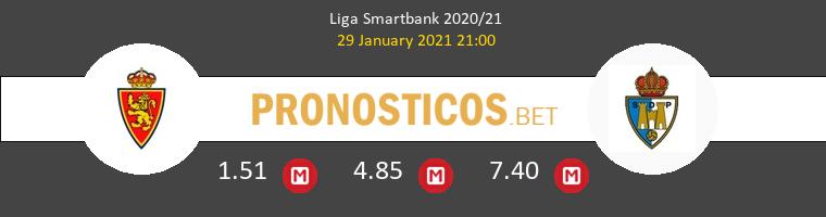 Zaragoza vs Ponferradina Pronostico (29 Ene 2021) 1