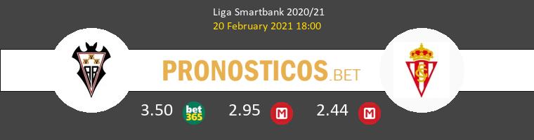 Albacete vs Real Sporting Pronostico (20 Feb 2021) 1