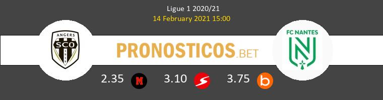 Angers SCO vs Nantes Pronostico (14 Feb 2021) 1