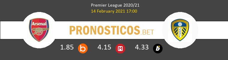 Arsenal vs Leeds United Pronostico (14 Feb 2021) 1