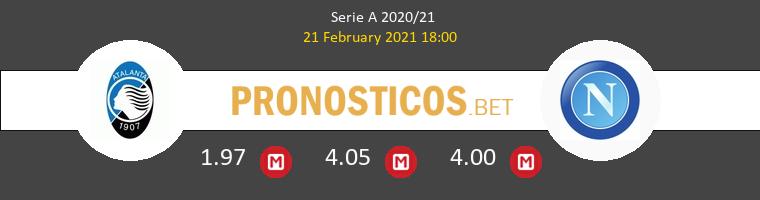 Atalanta vs Nápoles Pronostico (21 Feb 2021) 1