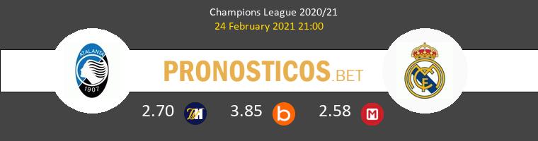Atalanta vs Real Madrid Pronostico (24 Feb 2021) 1