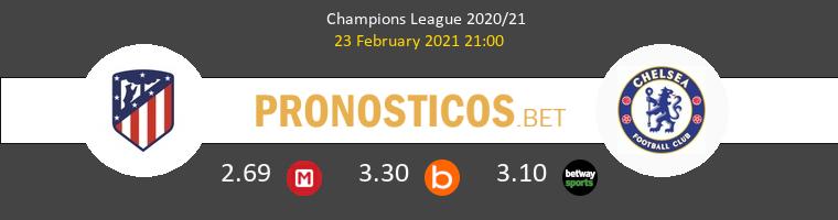 Atlético de Madrid vs Chelsea Pronostico (23 Feb 2021) 1