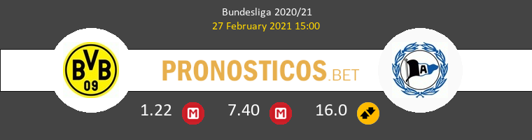 Borussia vs Arminia Bielefeld Pronostico (27 Feb 2021) 1
